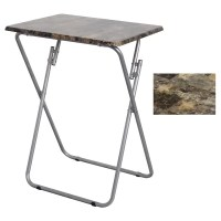 Folding TV and Snack Tray Table - 17741442 - Overstock.com ...