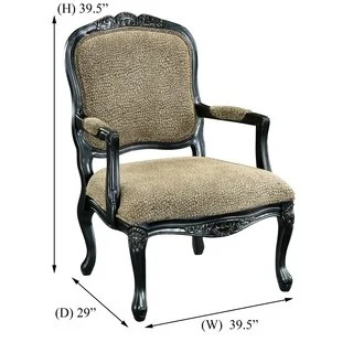 giraffe print chair crate and barrel chairs buy animal living room online at overstock com our best furniture deals