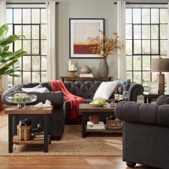 Hayden Sectional Sofa With Reversible Chaise Macy S Radley Sleeper Bonded Leather Sofas For Less | Overstock.com