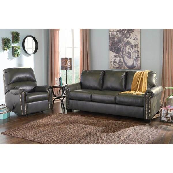 ashley furniture durablend sleeper sofa klippan 4 seat cover shop signature design by lottie slate queen