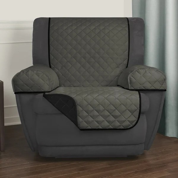 cover for recliner chair rei flexlite shop maytex reversible 3-piece microfiber pet - 25x69