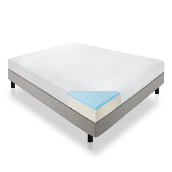 Lucid 8 Inch Queen Size Gel Memory Foam Mattress Free Shipping Today 17792286