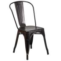 Antique Metal Dining Chair - Free Shipping Today ...