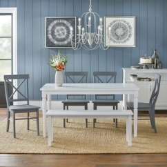 Kitchen Table With Bench And Chairs Reclaimed Wood Shelves Buy Seating Dining Room Sets Online At Overstock Com Simple Living 6 Piece Albury Set