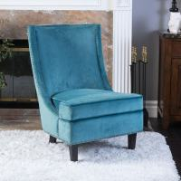 Carole Velvet Single Sofa Accent Chair by Christopher ...