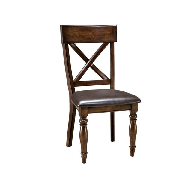 x back chairs handmade wooden shop kingston raisin dining chair set of 2 free shipping