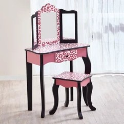 Kidkraft Farmhouse Table And Chair Set Espresso Inada Massage Price Princess Vanity - 12349587 Overstock.com Shopping Big Discounts On ...