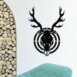 Deer Buck Hunting Vinyl Wall Art Decal Sticker