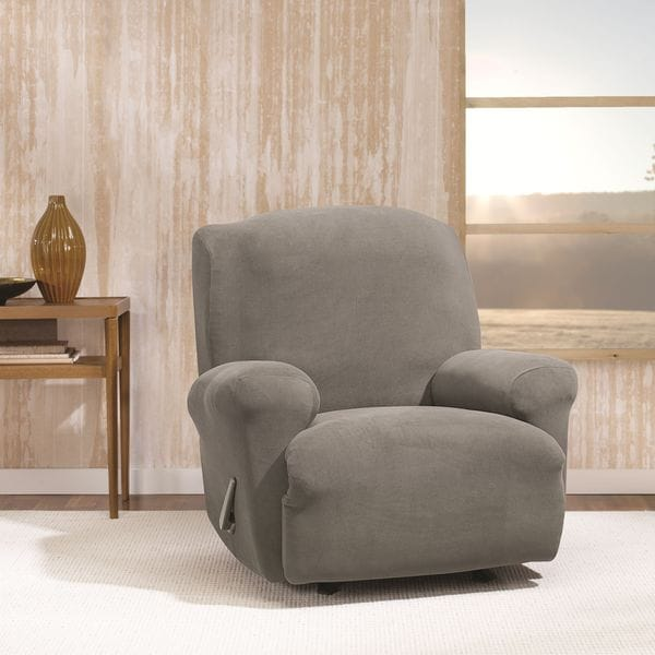 chair covers home goods ergonomic computer chairs sure fit stretch morgan recliner furniture cover - free shipping on orders over $45 overstock ...