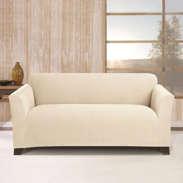 Sure Fit Stretch Morgan Loveseat Furniture Cover Free Shipping