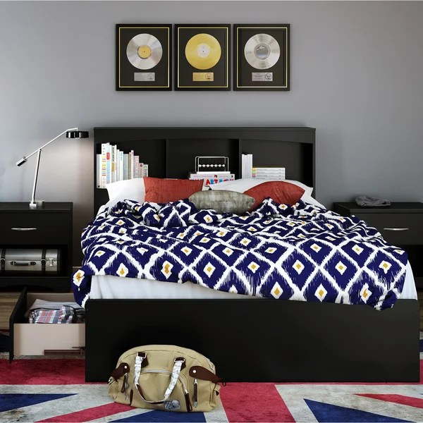 Shop South Shore Step One Full Size Bed Frame With Drawers