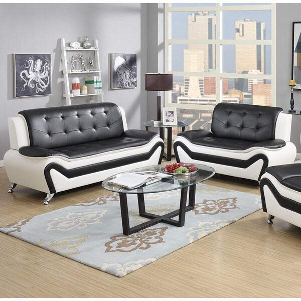Bonded Leather Sofa Set 1025theparty Com