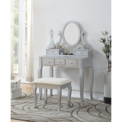 Makeup Vanity Chairs White Shell Shop Maison Rouge Alice Wood Table And Stool