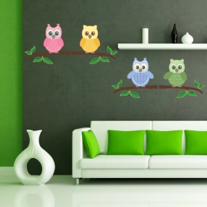 Baby Owls Wall Decal