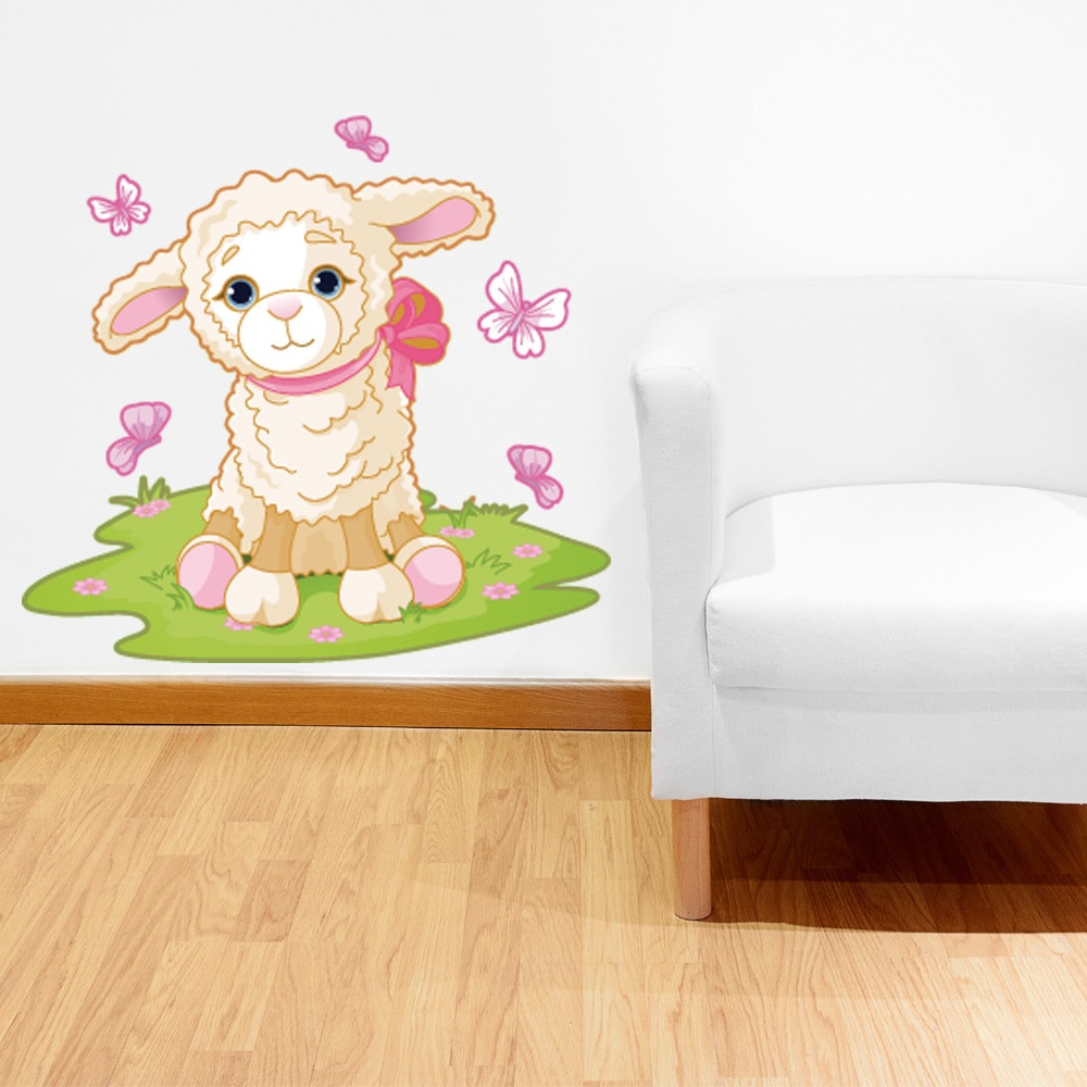 Baby Lamb Wall Decal