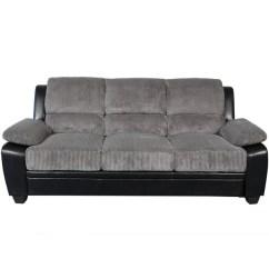 Grey Leather Sofas Harveys Abbie Sofa Dimensions Shop Sitswell Harvey Black And Faux ...