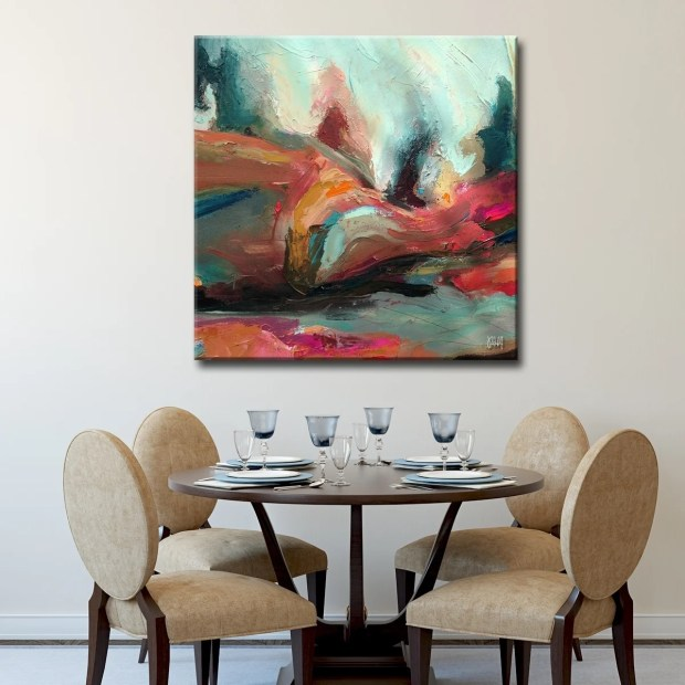 Ready2HangArt 'Abstract ABS XII' Canvas Wall Art