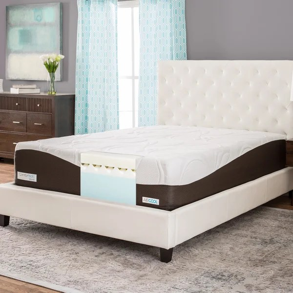 Comforpedic From Beautyrest 14 Inch Full Size Memory Foam Mattress