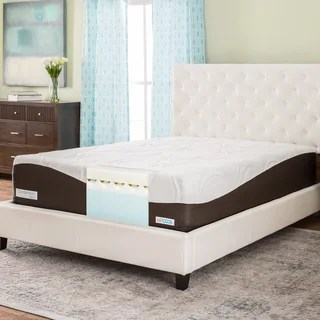 Comforpedic From Beautyrest 14 Inch King Size Memory Foam Mattress