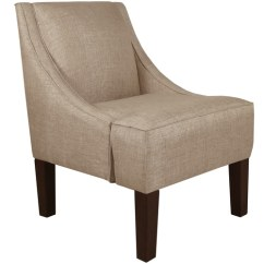 Overstock Arm Chair Wedding Covers London Ont Shop Skyline Furniture Swoop In Groupie Latte On Sale Free Shipping Today Com 10925537