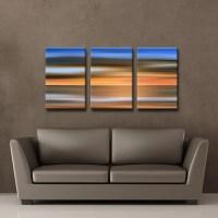 Shop Ready2HangArt 'Blur Stripes IX' 3-PC Canvas Wall Art ...