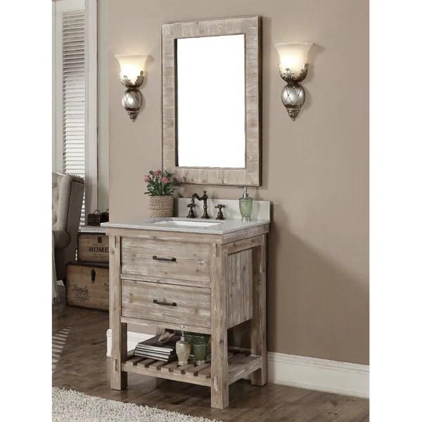 overstock kitchen sinks design layout ideas shop rustic style matte ash grey limestone top 30-inch ...