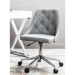 Office Chair Overstock Wedding Covers For Sale In Johannesburg Shop Marche Button Tufted With Faux Leather Upholstery Free Shipping On Orders Over 45 Com 10992131
