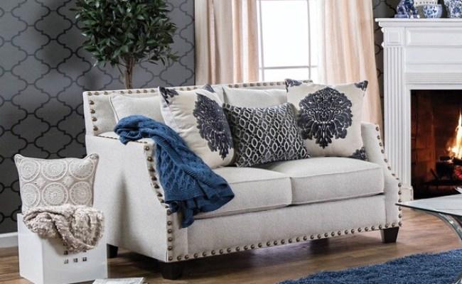 Shop Furniture Of America Rita Contemporary Nailhead