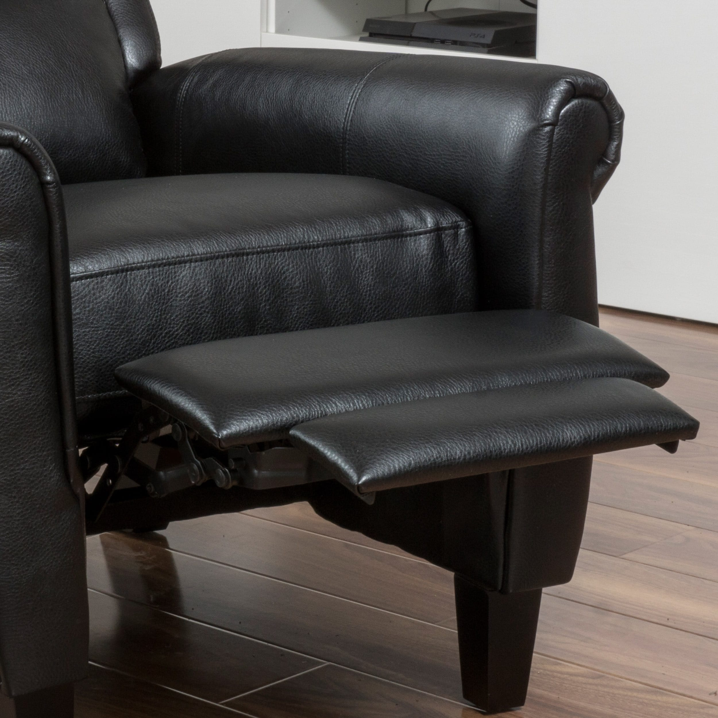 christopher knight club chair reclining shower barrister bonded leather recliner by