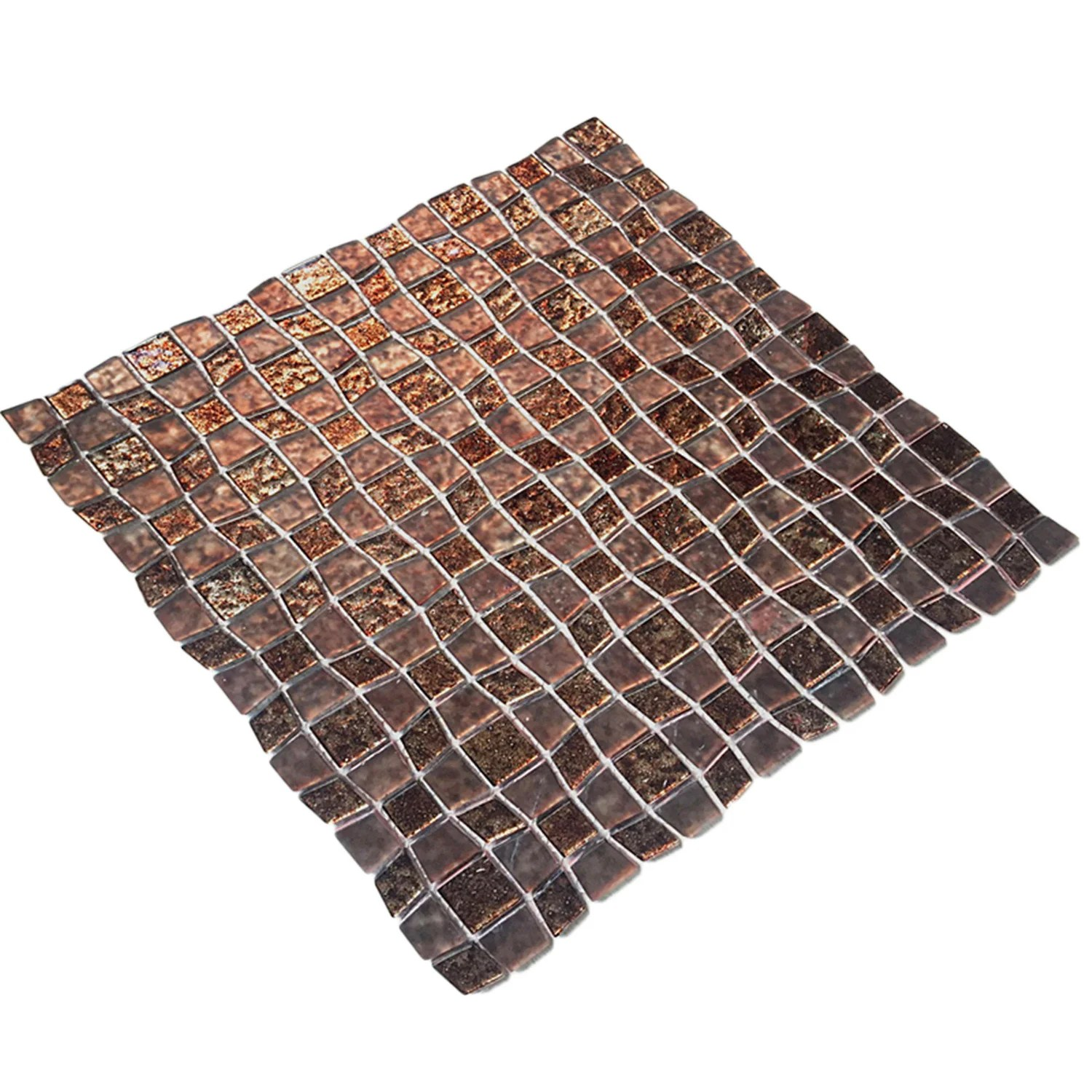 instant mosaic peel and stick 11 5 inch glass mosaic wall tile 6 sheets