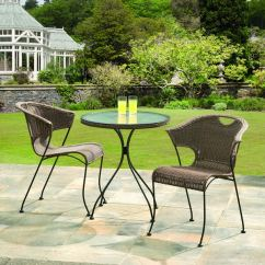 2 Chairs And Table Rattan Ultimate Office Chair Shop Wadebridge Bistro Set W Glass Top Comes A Free Shipping Today Overstock Com 11141315