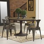 Drive 60 Oval Wood Top Dining Table On Sale Overstock 11149740