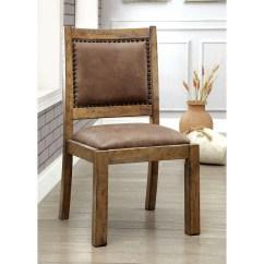 Rustic Dining Chair Office Depot Hardwood Floor Mat Furniture Of America Matthias Industrial Pine