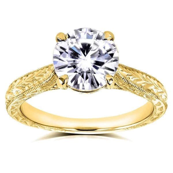 Shop Annello By Kobelli 14k Yellow Gold 1 12ct TGW