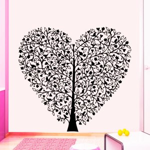 Wall Decal Tree Silhouette Decals Natural Forests for Nursery Vinyl Stickers Home Decor Murals