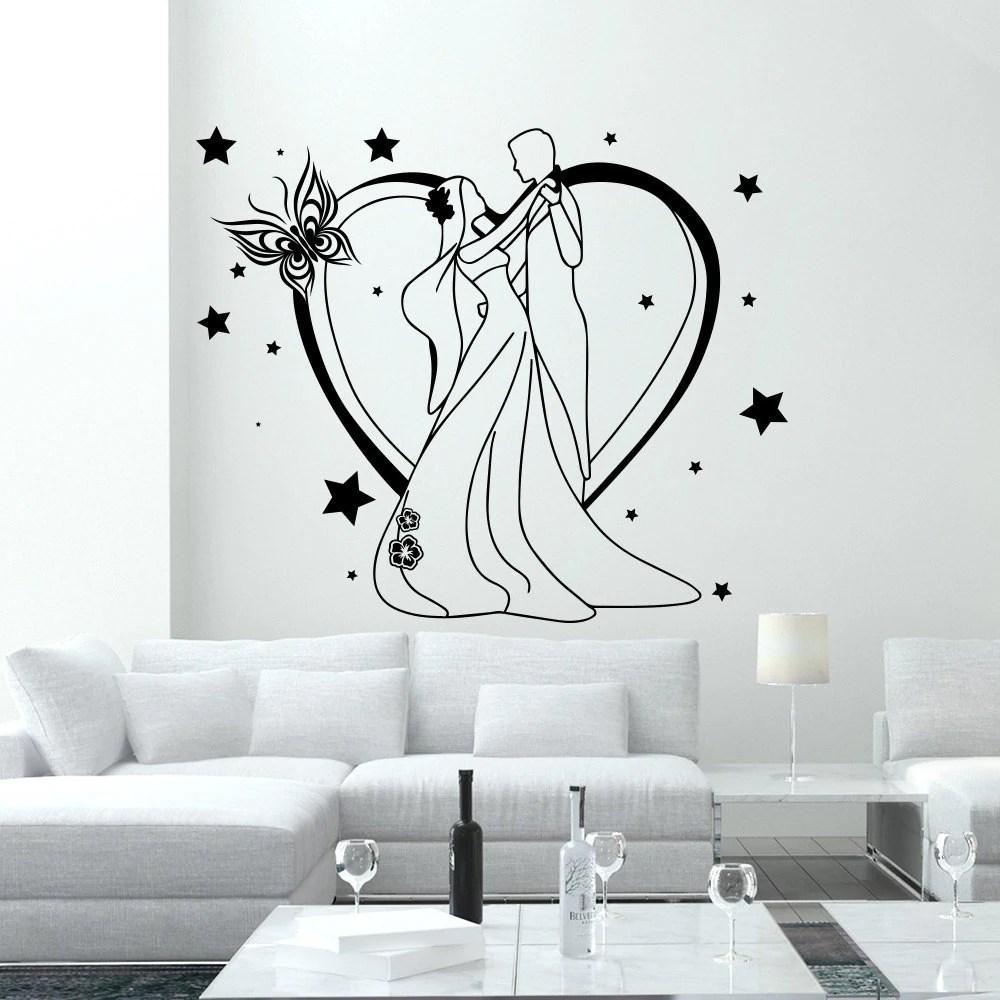 Wall Decal Fashion Beauty Salon Newlyweds Feast Love Family Design Vinyl Decals Decor