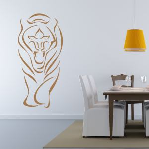 Abstract Tiger Wall Decal Sticker Mural Vinyl Decor Wall Art