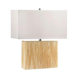 Elk Lighting Wild Wheat Acrylic Table Lamp With Night Light