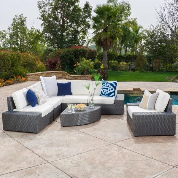Image Result For Christopher Knight Home Puerta Grey Outdoor Wicker Sofa Set
