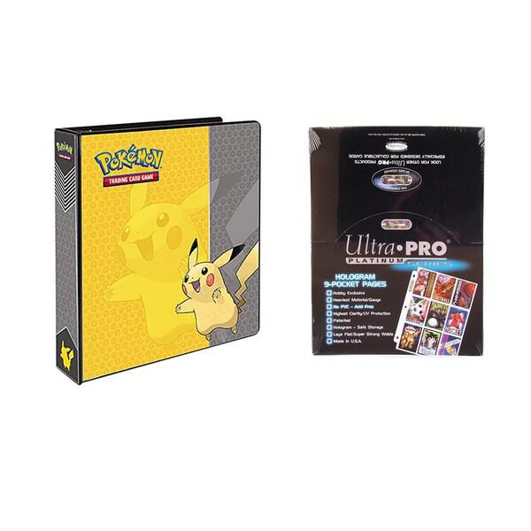 Shop Pokemon Pikachu 2 Inches 3 Ring Binder Card Album