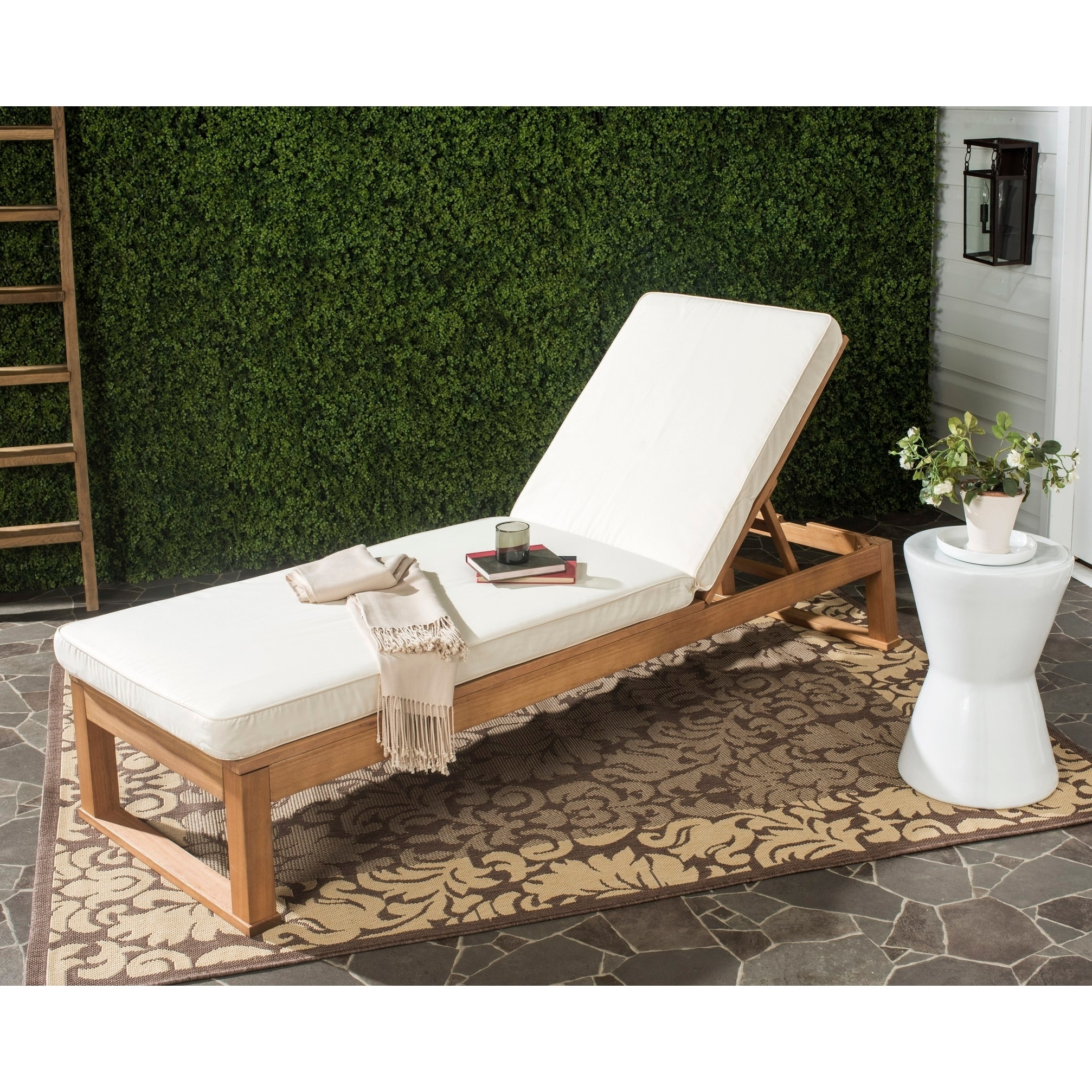 Teak Chaise Lounge Chairs Buy Teak Outdoor Chaise Lounges Online At Overstock Our Best