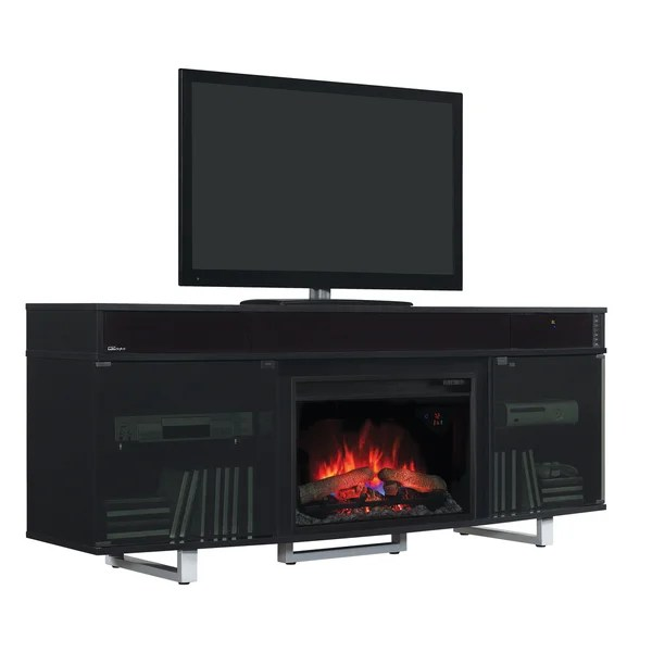 Fireplace Tv Stand Black Friday Deals Shop Enterprise Tv Stand With Speakers With 26-inch