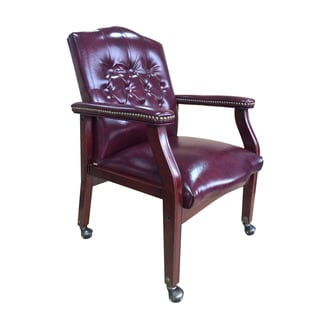 alera office chairs review posture chair for traditional executive burgundy bonded leather guest - 10466702 overstock.com shopping ...