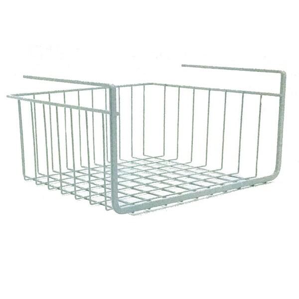 Shop Modern Home 10-inch Cabinet Wire Hanging Basket Shelf