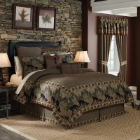 Shop Croscill Grand Lake Jacquard Woven Lodge Inspired 4