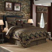 Shop Croscill Grand Lake Jacquard Woven Lodge Inspired 4 ...