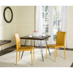 Yellow Chairs For Sale White Swivel Chair With Arms Shop Safavieh Mid Century Dining Karna Antique Set Of 2