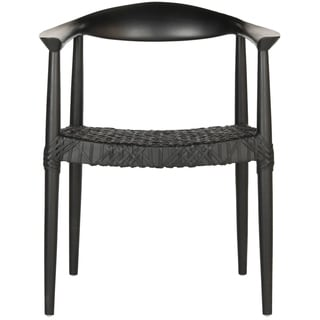 overstock com chairs do massage work buy arm living room online at our best safavieh rural woven dining bandelier black chair