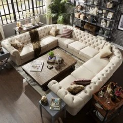 Best Living Room Sets Furniture Arrangement With Tv And Fireplace Buy Sectional Sofas Online At Overstock Com Our Knightsbridge Tufted Scroll Arm Chesterfield 11 Seat U Shaped By Inspire Q Artisan