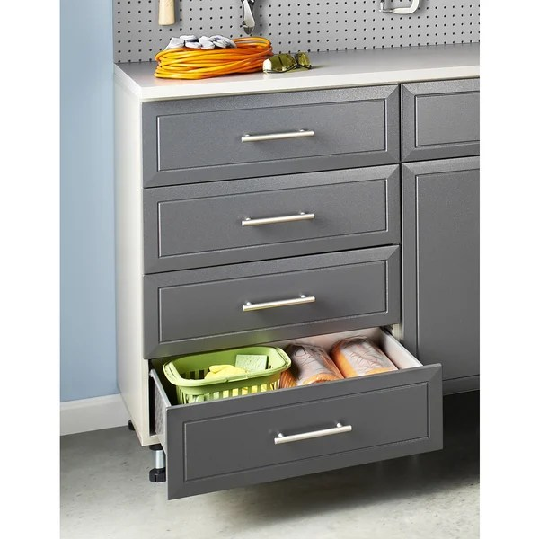 Shop ClosetMaid ProGarage 4 Drawer Storage Cabinet  Free Shipping Today  Overstock  11409387